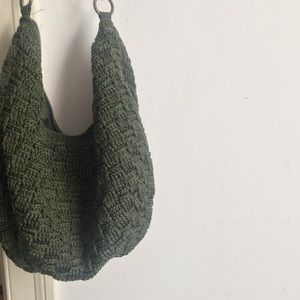 The Sak green purse